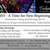 New Beginnings - 2015 - Tuskawilla Presbyterian Church