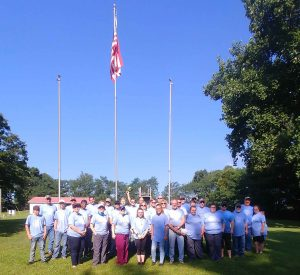 Group picture of TPC and Louisiana teams