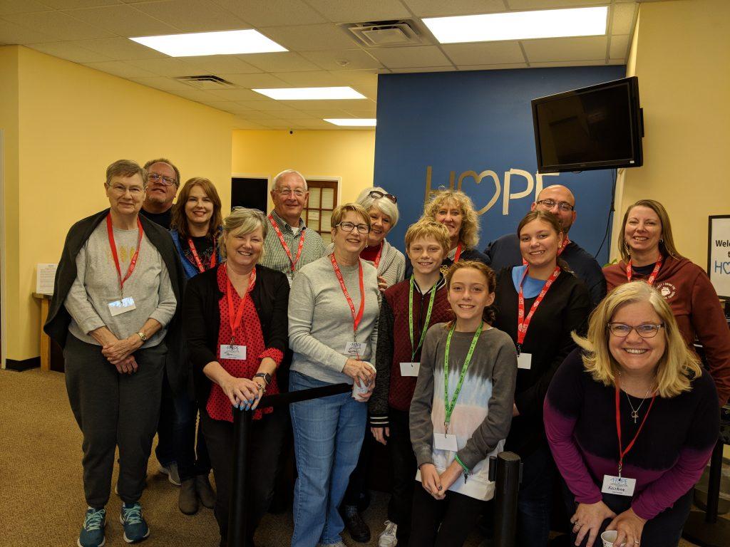 TPC volunteers at Hope Pantry Takeoever